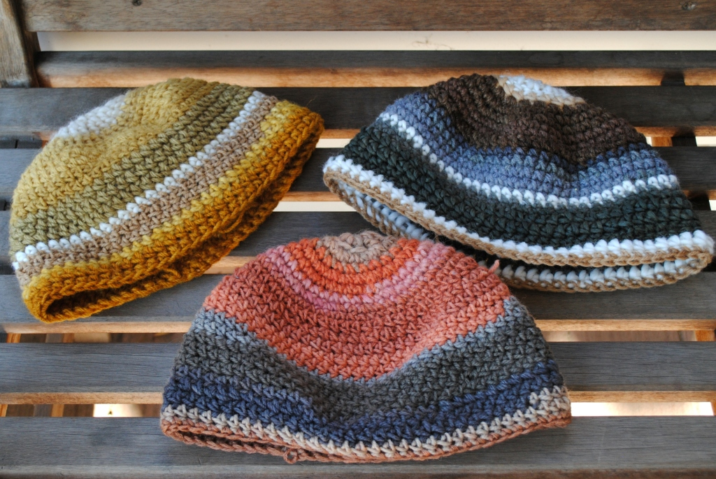 Mushroom-dyed Hats