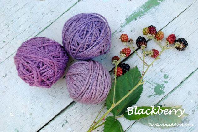 Blackerry Natural Dye