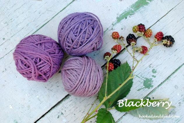 Blackerry Natural Dye