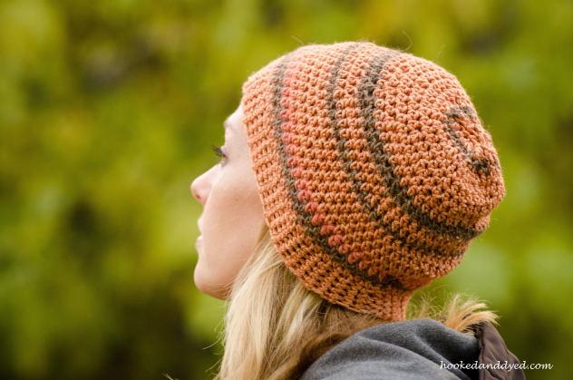 mushroom dyed hat