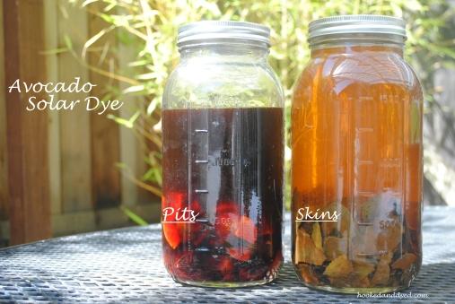 Avocado Solar Dye - Pits and Skins