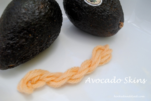 Avocado Skins Natural Dye