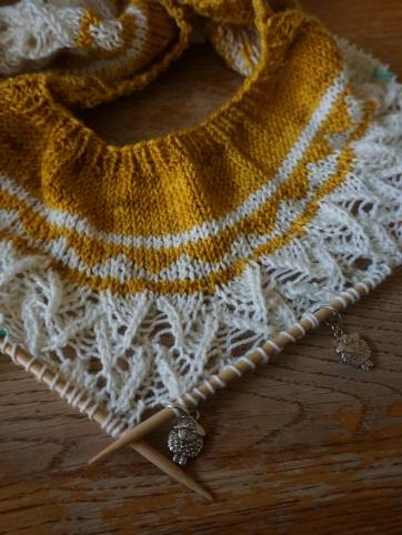 Zweig Sweater in process