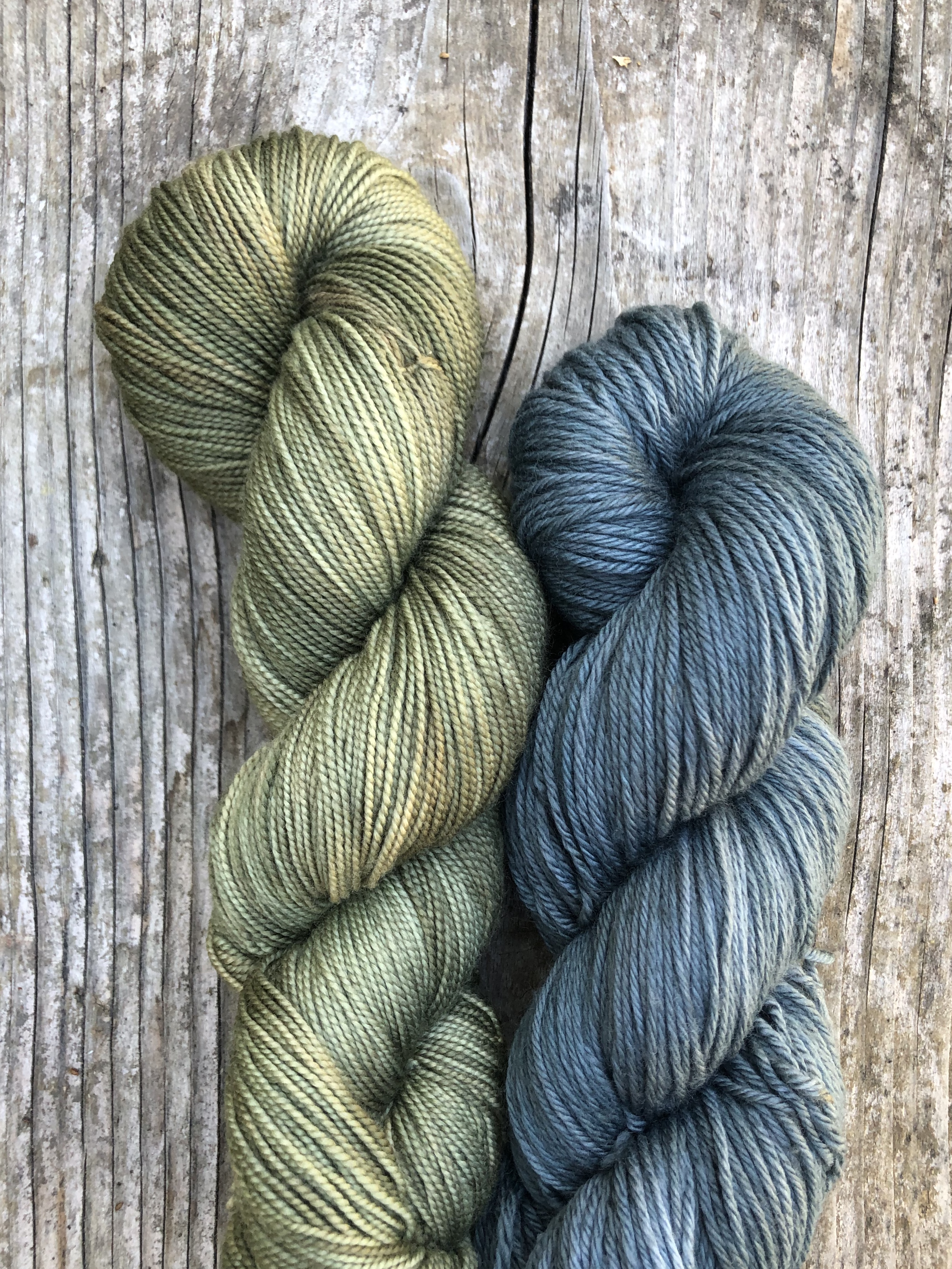 Hollyhock Dyed Yarn